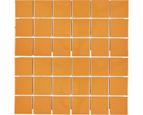 Keramikmosaik CD B207 30,6x3,06 cm orange