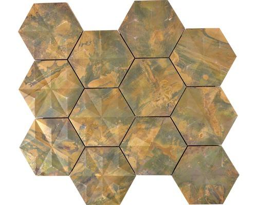 Metallmosaik Kupfer XK 3DH 26 26,5x30,5 cm
