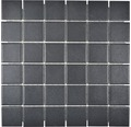 Keramikmosaik SAT 402 30x30 cm schwarz