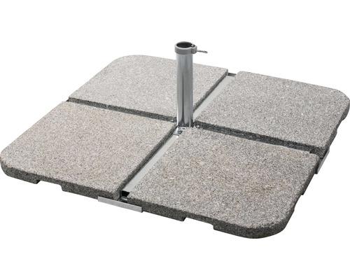 Kreuzschirmständer Schneider Stahl 6 kg silber