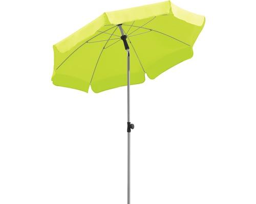 Sonnenschirm Schneider Locarno Ø 150 cm H 220 cm apfelgrün