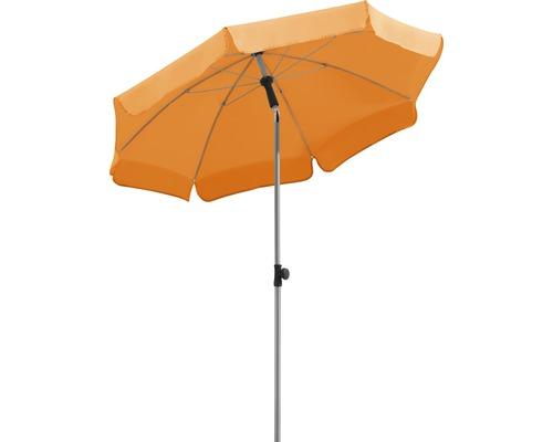 Sonnenschirm Schneider Locarno Ø 150 cm H 220 cm mandarine