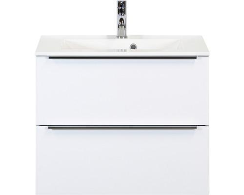 Badmöbel-Set Pulse 70 cm mit Waschtisch weiß hochglanz