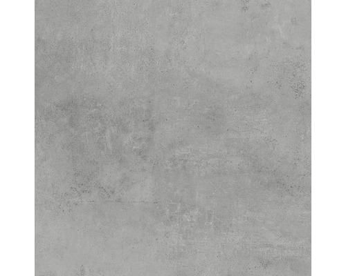 Feinsteinzeug Wand- und Bodenfliese Hometec Grey matt 60 x 60 cm