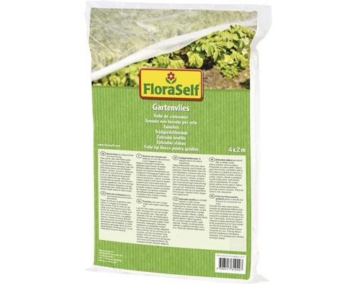 Gartenvlies FloraSelf Basic17 g/m² 4 x 2 m