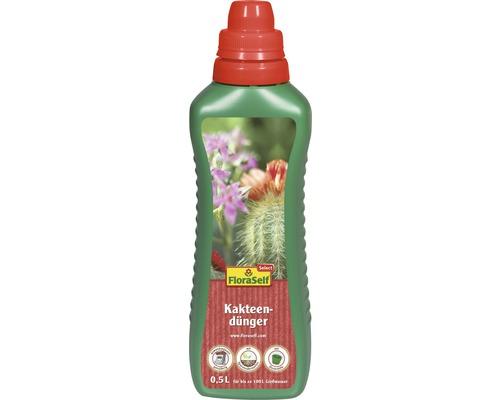 Kakteen- und Sukkulentendünger FloraSelf Select 500 ml