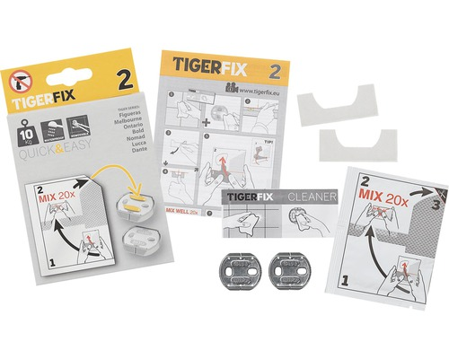 Tigerfix-Set Typ 2 Klebesystem