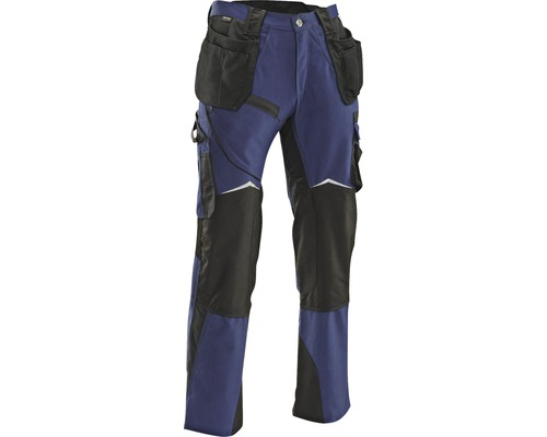Bundhose mit Holstertaschen Hammer Workwear blau W28/L36