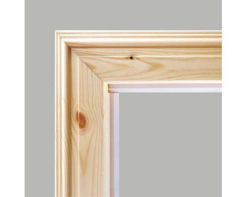 Komplettzarge Pertura Fichte lackiert 198,5x98,5x27,0 cm Rechts