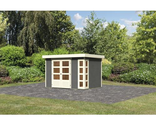 Gartenhaus Karibu Naomi 4 302 x 217 cm terragrau