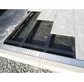 Terrassenlager Befestigungsaufsatz M-Fix Set = 30 Stück inkl. Pad und Bohrschrauben für UK Big- / Twixt-Isostep-Clip