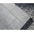 Duo Seitenverblendung Ober- und Unterteil Aluminium Höhe: 108 - 148mm L: 1900mm RAL 9007