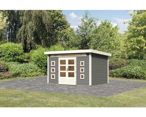 Gartenhaus Konsta Landau 7 364 x 244 cm terragrau