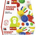 Marabu KIDS Fingerfarbe 100ml 4er-Set