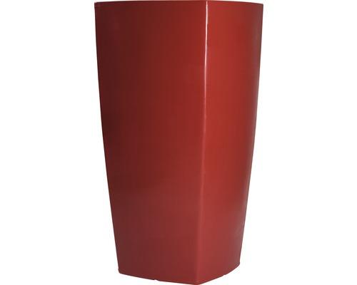 Pflanzvase Degardo Trevia III Kunststoff 57x57x110 cm rot