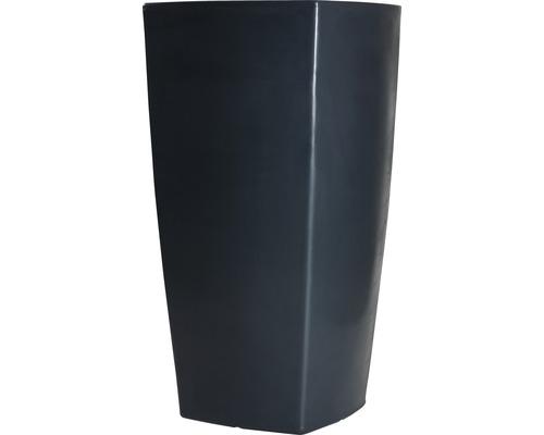 Pflanzvase Degardo Trevia III Kunststoff 57x57x110 cm anthrazit