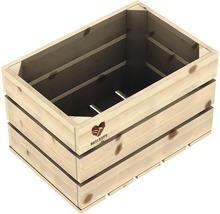 Buildify Obstkiste klein, unbehandelt, 34x23x21 cm