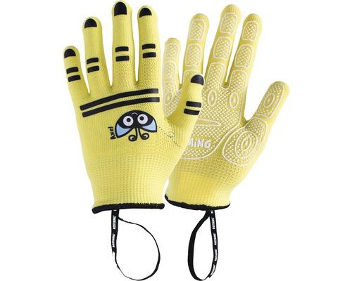 Kinderhandschuhe AXEL-IT 3-4 1 Paar gelb