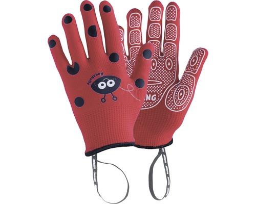Kinderhandschuhe ANABEL-IT 3-4 1 Paar rot