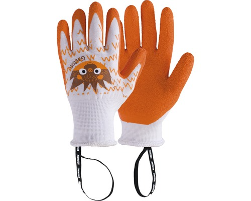Kinderhandschuhe GASTON-IT 6-8 1 Paar orange