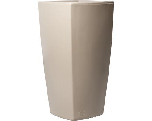 Pflanzvase Degardo Trevia V Kunststoff 36x36x70 cm braun