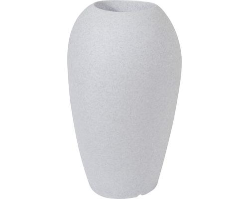 Pflanzvase Degardo Storus V Kunststoff 55x60x100 hellgrau