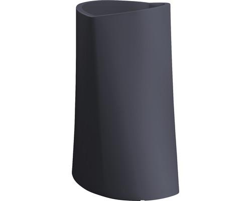Pflanzvase Degardo Varia Kunststoff 74x75x110 cm anthrazit