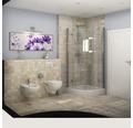 Feinsteinzeug Wand- und Bodenfliese Ardesia Almond 45 x 45 cm
