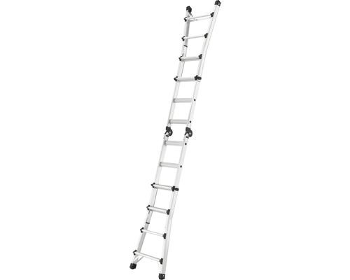 Hailo Teleskopleiter MTL 4x4 Sprossen