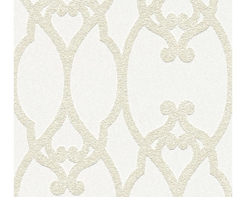 Vliestapete 95169-1 Meistervlies 2020 3D Quarzit Ornament
