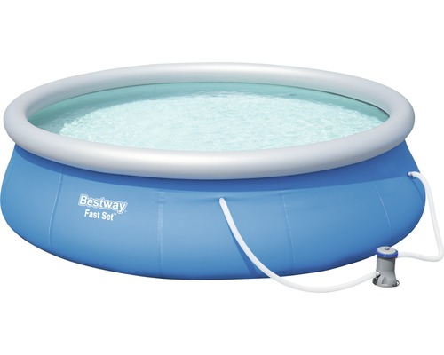 Bestway Fast-Set-Pool Rundbecken Ø 396 cm, Höhe 84 cm