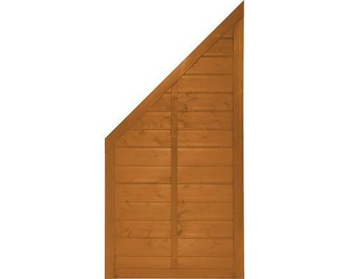 Abschlusselement Konsta Venga 90 x 180/90 cm links, kirschbaumoptik