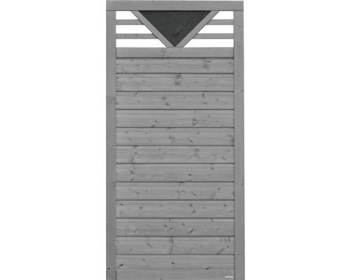 Teilelement Konsta Andria 90 x 180 cm, hellgrau