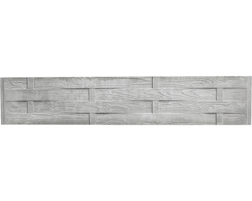 Betonzaunplatte Standard Flecht 200x38,5x3,5cm