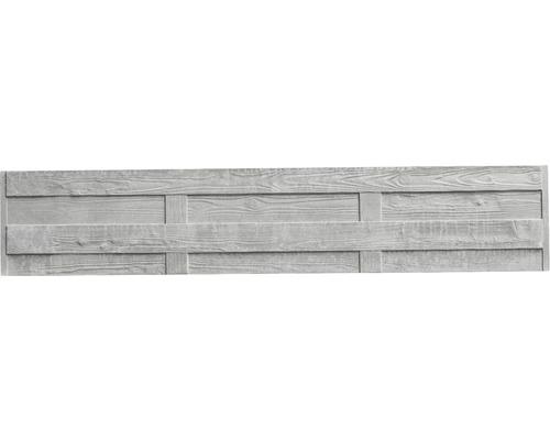 Betonzaunplatte Standard Elegant 200x38,5x3,5cm