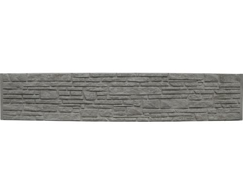 Betonzaunplatte Standard Montana 200x38,5x3,5cm