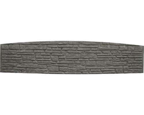 Betonzaunbogenplatte Standard Montana 200x45x3,5cm