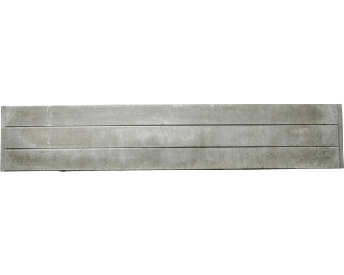 Betonzaunplatte Standard Prestige Glatt 200x38,5x3,5cm