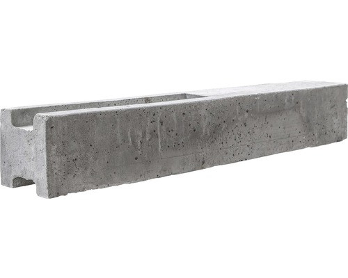 Zwischenpfosten Standard Doppelseitig 39/80x13x13cm, grau