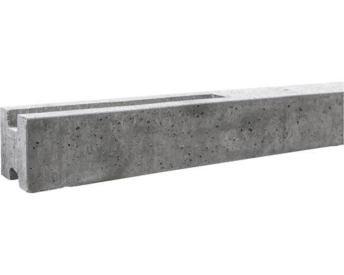 Zwischenpfosten Standard Einseitig 193/248x11x11cm, grau
