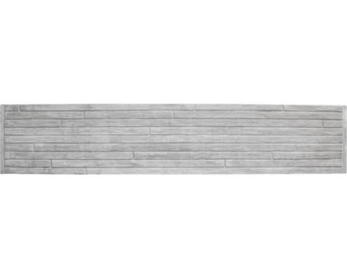 Betonzaunplatte Standard Toscana 200x38,5x3,5cm