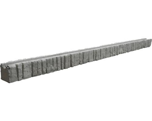 Anfangspfosten Mediteran Nostalgie 245/305x12,5x12cm, grau