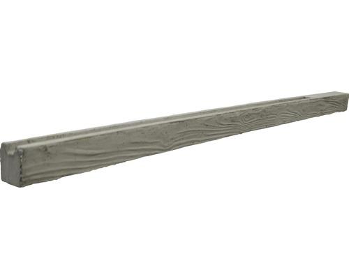 Anfangspfosten Mediteran Waldholz 215/275x12,5x12cm, grau