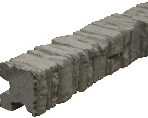 Eckpfosten Mediteran Nostalgie 245/305x12,5x12cm, grau