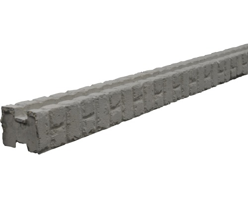 Zwischenpfosten Mediteran Klassik Stein 185/245x12,5x12cm, grau