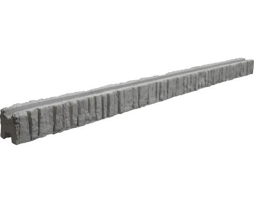 Zwischenpfosten Mediteran Nostalgie 185/245x12,5x12cm, grau