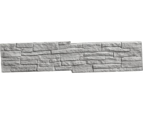 Betonzaunplatte Mediterran Nostalgie Zwischenplatte 144x30x4cm