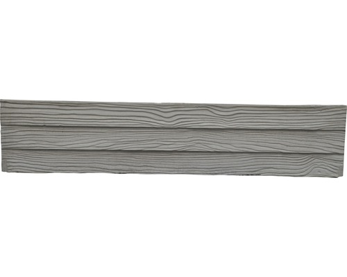 Betonzaunplatte Mediterran Waldholz 144x30x4cm