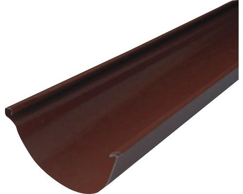 Precit Dachrinne chocolate brown NW 125mm Länge: 4,00m Größe 280