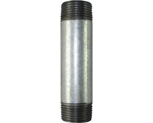 "Gebo Rohrnippel 1/2""x120 mm verzinkt"